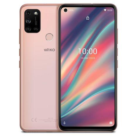 WIKO Smartphone View5 64 Go 6.55 pouces Or 4G Double port NanoSim