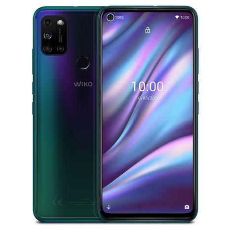 WIKO Smartphone View5 Plus 128 Go 6.55 pouces Bleu 4G Double port NanoSim
