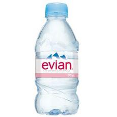 EVIAN Eau minérale naturelle bouteille 33cl