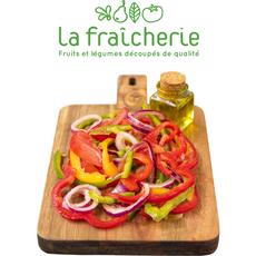LA FRAICHERIE Poêlée Basquaise : poivrons, tomates et oignons 600g