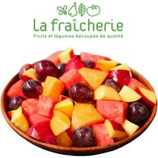 LA FRAICHERIE Salade de fruits frais : ananas, orange, raisin, mangue 750g