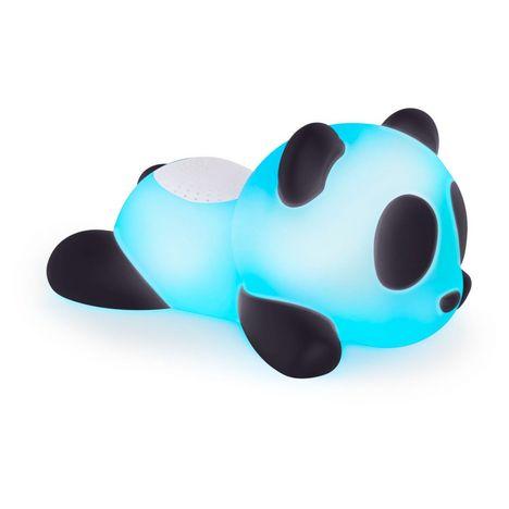 BIGBEN Enceinte portable Bluetooth lumineuse - Noir / blanc - Luminus Panda 2