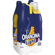 ORANGINA  Boisson gazeuse à la pulpe de fruit jaune light 4x1,5l