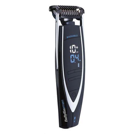 BABYLISS Tondeuse barbe E876E - Noir