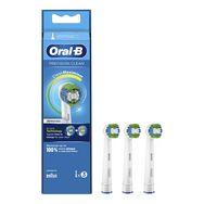 ORAL-B Lot de 3 brossettes Precison Clean - Blanc