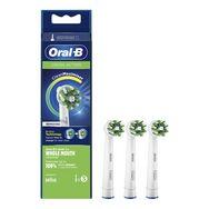 ORAL-B Lot de 3 brossettes CrossAction - Blanc