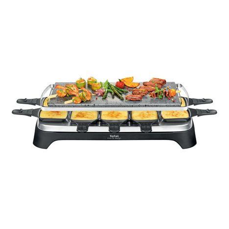 TEFAL Appareil à raclette PR457B12 - Noir