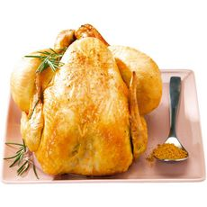 ROTISSERIE Rôtisserie poulet entier rôti certifié cuit du jour 780g 780g