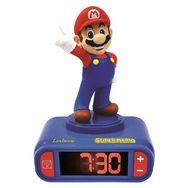 LEXIBOOK Réveil avec effets sonores Super Mario - RL800NI - Bleu/rouge