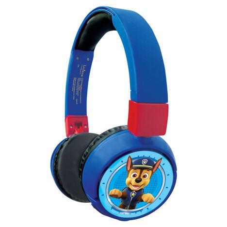 LEXIBOOK Casque audio bluetooth et filaire - Pat Patrouille - HPBT010PA