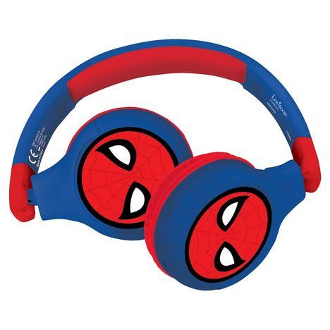 LEXIBOOK Casque audio bluetooth et filaire - Spider-Man - HPBT010SP