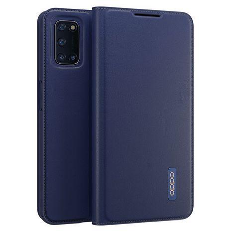 OPPO Étui folio pour Oppo A72 - Bleu foncé