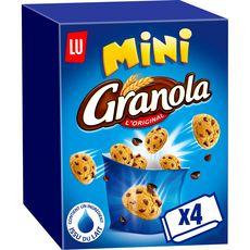 GRANOLA Mini cookies, sachets fraîcheur 4 sachets 4x40g