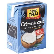 REAL THAI Crème de coco UHT premium saveur 200ml