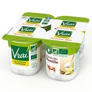 Vrai arôme vanille bio 4x125g