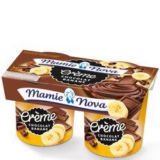 Mamie Nova gourmand chocolat banane 2x150g