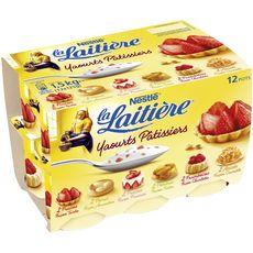 LA LAITIERE LA LAITIERE Yaourt aux fruits pâtissiers panaché 12x125g 12x125g