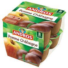 ANDROS Spécialité pomme châtaigne 8x100g