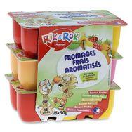 Rik & Rok fromage frais aux fruits 18x50g