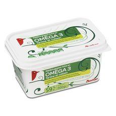 AUCHAN Margarine oméga 3 doux  500g