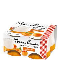 Bonne Maman yaourt confiture abricots 4x125g
