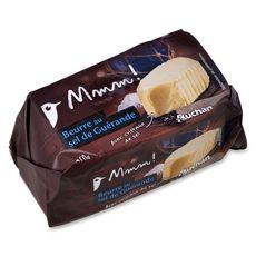 Mmm! beurre moulé au sel de Guérande 250g