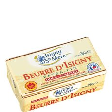 Isigny beurre AOC doux 250g