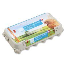 AUCHAN Auchan oeufs de poules élevées en plein air x18