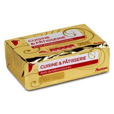 Auchan margarine plaquette 70%mg 500g