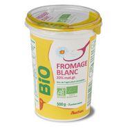 Auchan bio fromage blanc 20%mg 500g