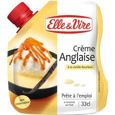 Elle&Vire crème anglaise à la vanille de bourbon 33cl