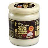 Isigny Sainte-Mère AUCHAN Mmm ! Crème fraîche d'Isigny épaisse entière AOP 40%MG 40cl