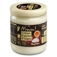 Mmm! crème fraîche d'Isigny 396g