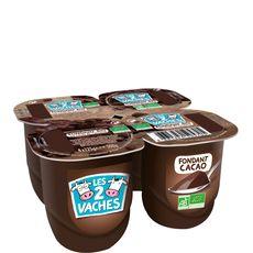 Les 2 Vaches fondant cacao bio x4 -500g