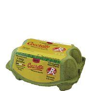 Cocorette oeufs fermiers label rouge moyens x6