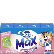 LACTEL Lactel max fraise 4x -20cl