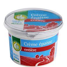 POUCE Pouce crème fraîche épaisse entière 497g