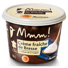AUCHAN mmm ! Crème fraîche AOP 36%MG 40cl