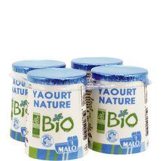 MALO Yaourt nature bio 4x125g 4x125g