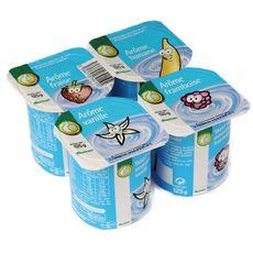 POUCE Pouce yaourt aromatisé 4x125g