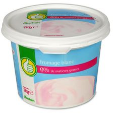 AUCHAN ESSENTIEL AUCHAN ESSENTIEL Fromage blanc 1kg 1kg