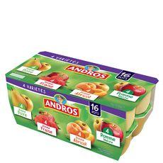 ANDROS Spécialité aux fruits panaché 16x160g