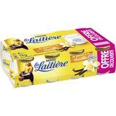 Nestlé La Laitière yaourt vanille 8x125g