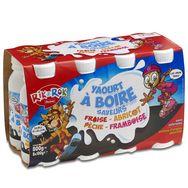 Rik & Rok yaourt à boire panaché 8x100g