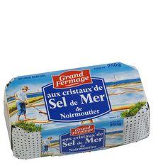 Grand Fermage beurre moulé au sel de mer 250g