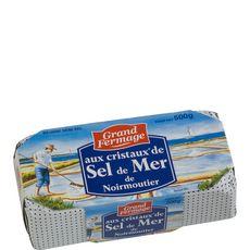 Grand Fermage beurre sel de mer moulé 500g