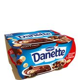 Danone Danette pop chocolat bille 3chocolats x4 -468g