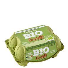 Cocorette oeuf fermier bio x6