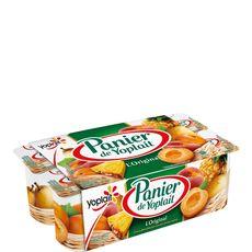 Panier de Yoplait fruits jaunes 8x125g