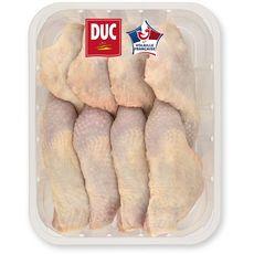 DUC Cuisses de poulet avec partie de dos blanc 3kg